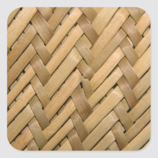 Basket Weave Sticker