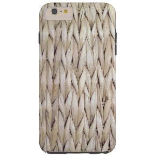 Basket Weave Tough iPhone 6 Plus Case