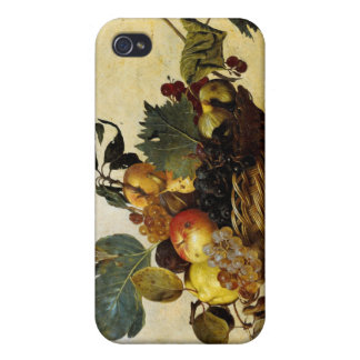 Basket with Fruit, Caravaggio iPhone 4/4S Covers