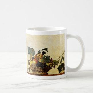 Basket with Fruit, Caravaggio Coffee Mugs