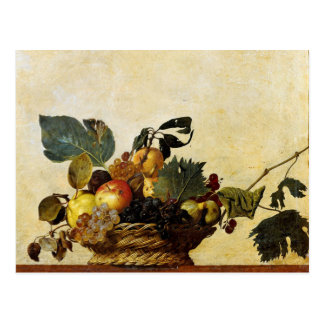 Basket with Fruit Caravaggio Post Cards