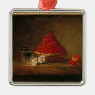 Basket with Wild Strawberries, c.1761 Christmas Ornament