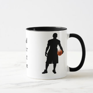 basketabll gifts mug