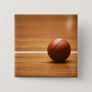 Basketball 15 Cm Square Badge
