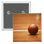 Basketball 15 Cm Square Badge