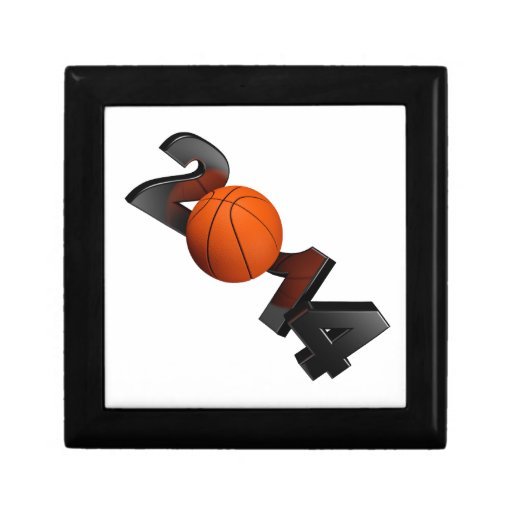 Basketball 2014 jewelry boxes