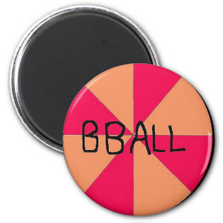BASKETBALL (2) REFRIGERATOR MAGNET