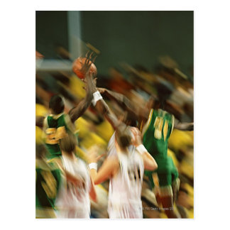 Basketball 3 postcard