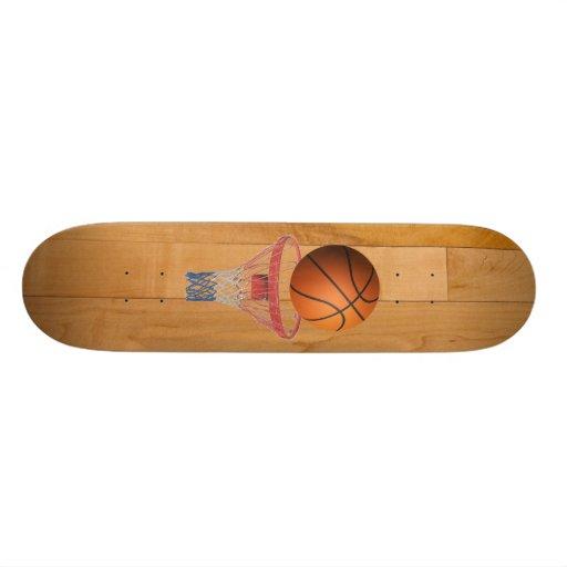 Basketball - 3D Effect Skateboard