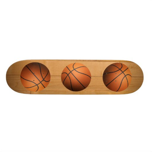Basketball - 3D Effect Skate Board