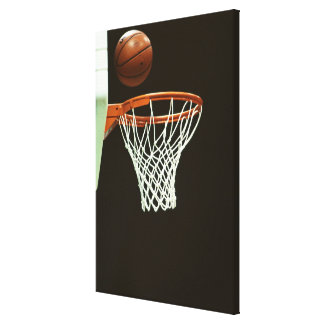 Basketball 5 canvas print