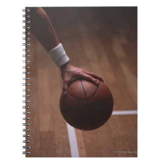 Basketball 6 spiral notebook