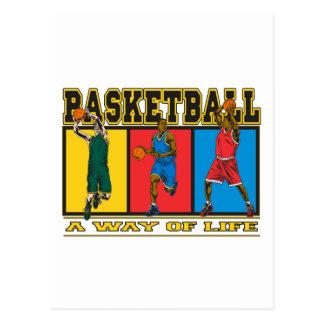 Basketball A Way of Life Postcard