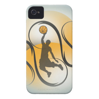 Basketball Abstract iPhone 4 Cover