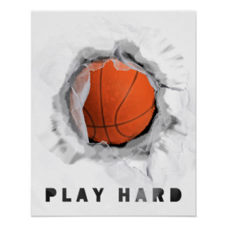 Basketball Advice Poster