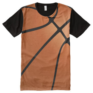 Basketball All-Over Print T-Shirt