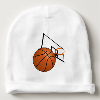Basketball and Hoop Baby Beanie