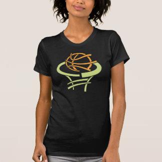 Basketball And Net Womens T-Shirt