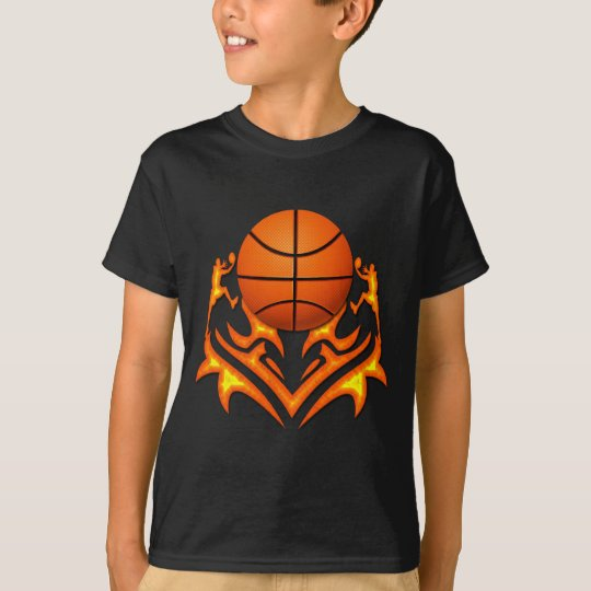 BASKETBALL AND PLAYERS T-Shirt