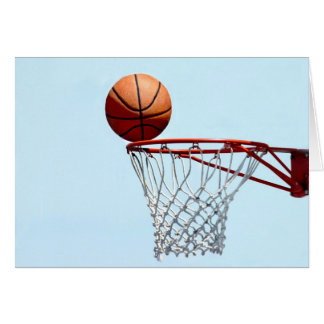 Basketball anticipation card