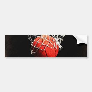 Basketball Art Bumper Sticker