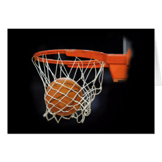 Basketball Artwork Card
