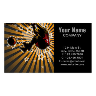 Basketball Athlete Pack Of Standard Business Cards