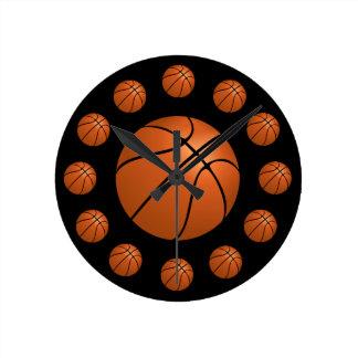 Basketball Atom Clock