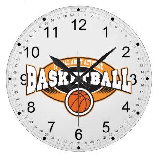 Basketball Attitude Large Clock
