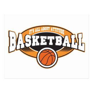 Basketball Attitude Postcard