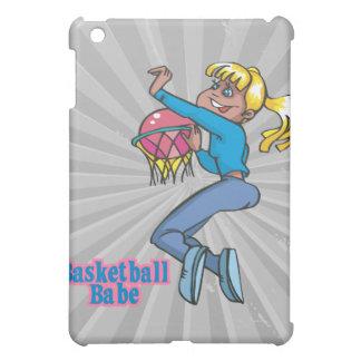 basketball babe girls basketball player iPad mini cases