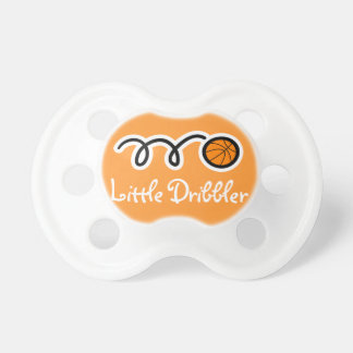 Basketball baby pacifier / soother binkie dummy