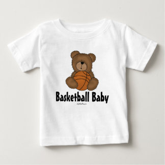 Basketball Baby Tee Shirt