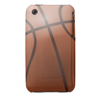 Basketball Background iPhone 3 Cases
