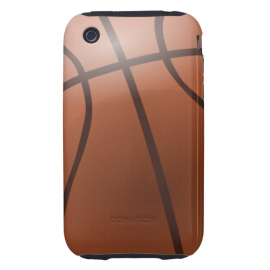 Basketball Background Tough iPhone 3 Covers