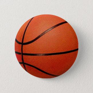 Basketball Ball 6 Cm Round Badge