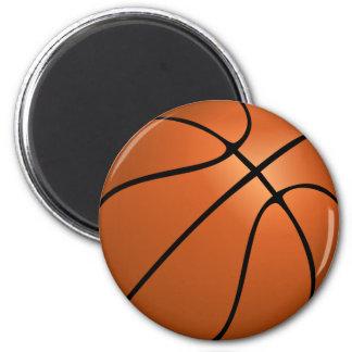 basketball (ball) 6 cm round magnet