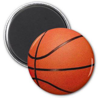 Basketball Ball 6 Cm Round Magnet