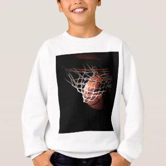 Basketball Ball in Action Sweatshirt