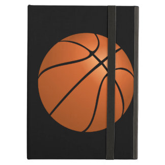 Basketball Ball on Black Background iPad Air Cases