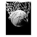 Basketball Ball Post Cards