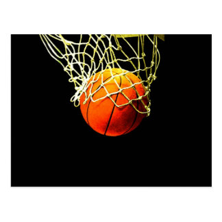 Basketball Ball Postcard
