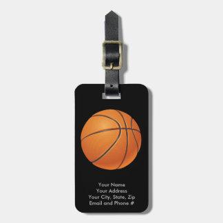 Basketball Ball, Team Sport Luggage Tag