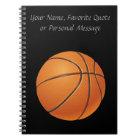 Basketball Ball, Team Sport Notebook