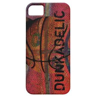 basketball ball - urban grunge - dunkadelic iPhone 5 cover