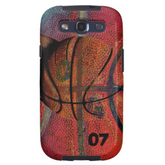 basketball ball - urban grunge phone case samsung galaxy SIII covers