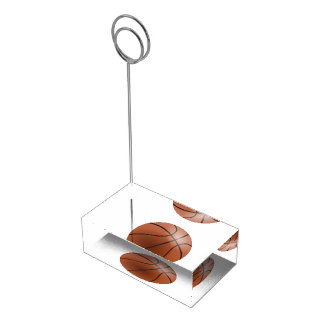 Basketball Banquet Table Card Holder