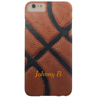 Basketball Barely There iPhone 6 Plus Case