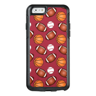 Basketball, Baseball and Football Love OtterBox iPhone 6/6s Case