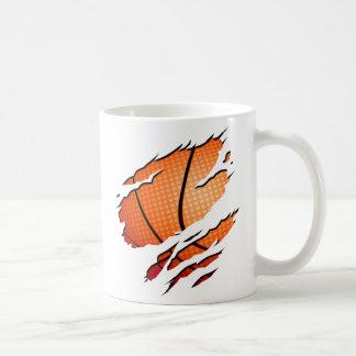 Basketball Basic White Mug
